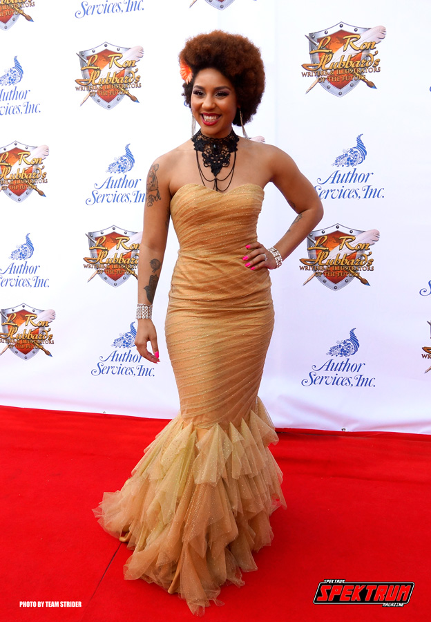 Musician Joy Villa looking beautiful on the red carpet