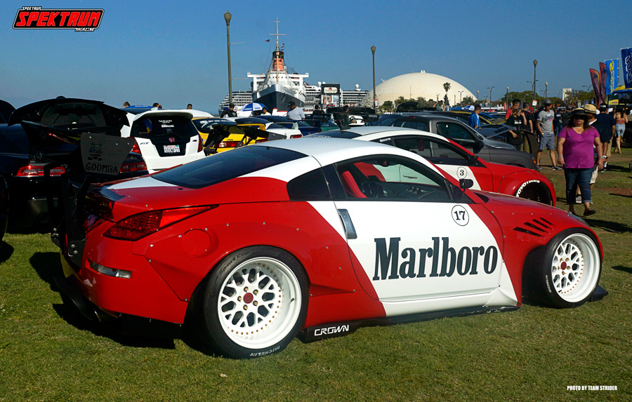 Check out this tribute to the old Honda/Marlboro Formula 1 days