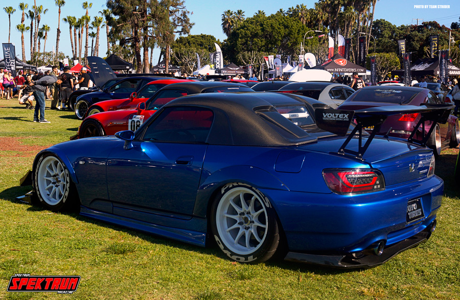 Check out this S2000 from Wekfest Long Beach