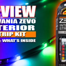 Painting with a rainbow of LED's: Review of the Sylvania ZEVO Interior Strip Kit