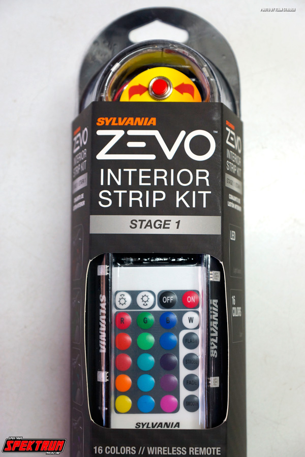 The Zevo Interior Strip LED Kit front
