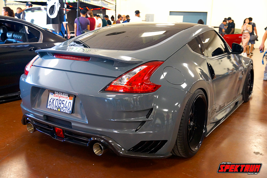 Check out the booty from this Nissan 370Z