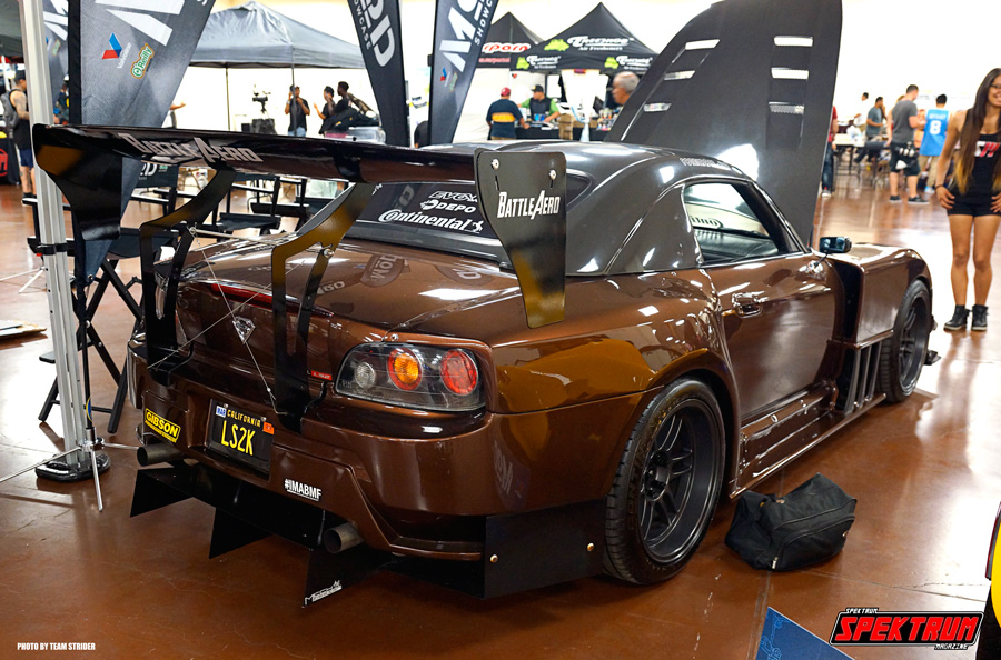 One crazy modified Honda S2000