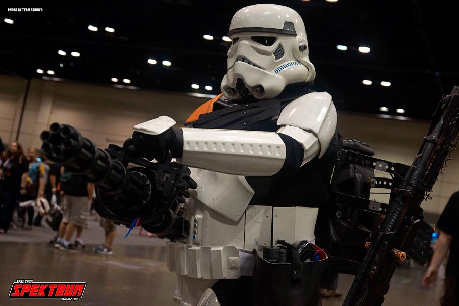 A Stormtrooper with a minigun? You bet!