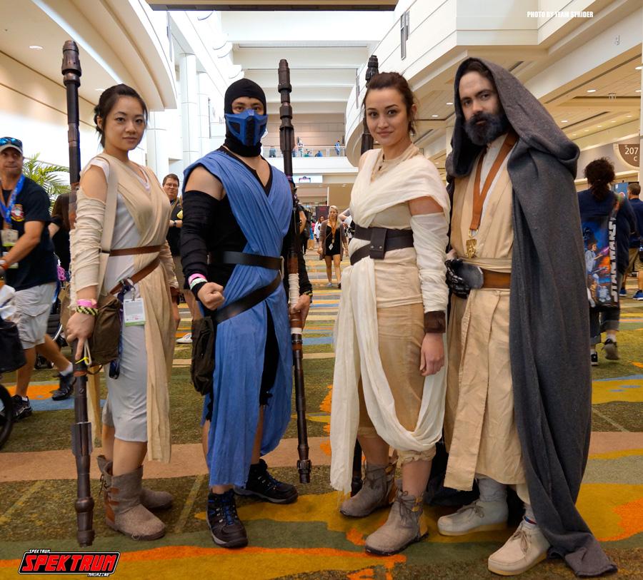 If Mortal Kombat and Star Wars merged