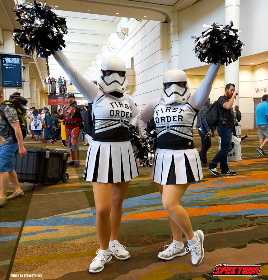 First Order cheerleaders. Kawaii!!