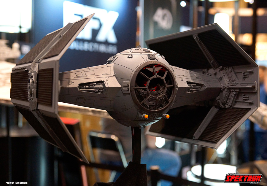 Darth Vaders Tie Fighter model