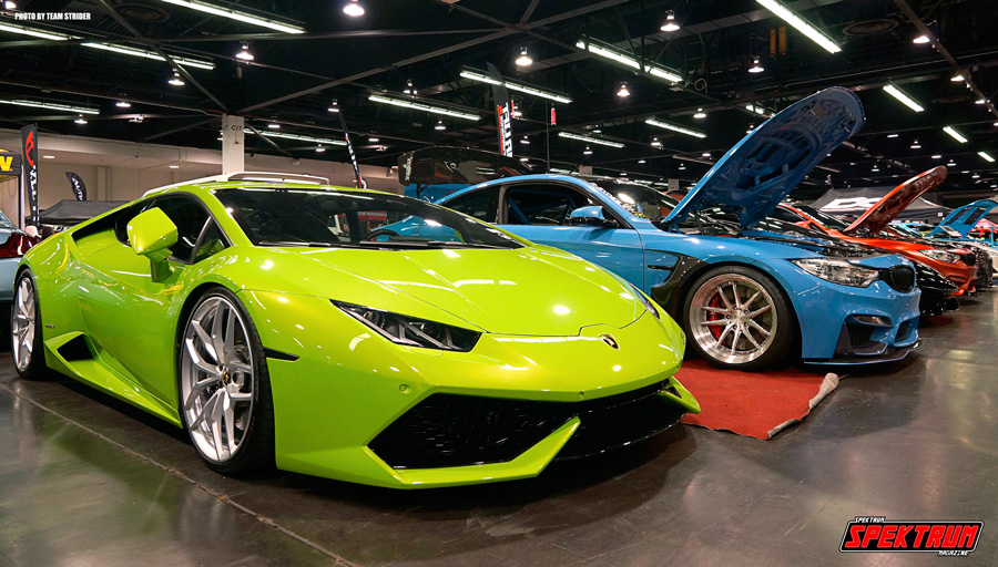 Lamborghini and a few other fine vehicles