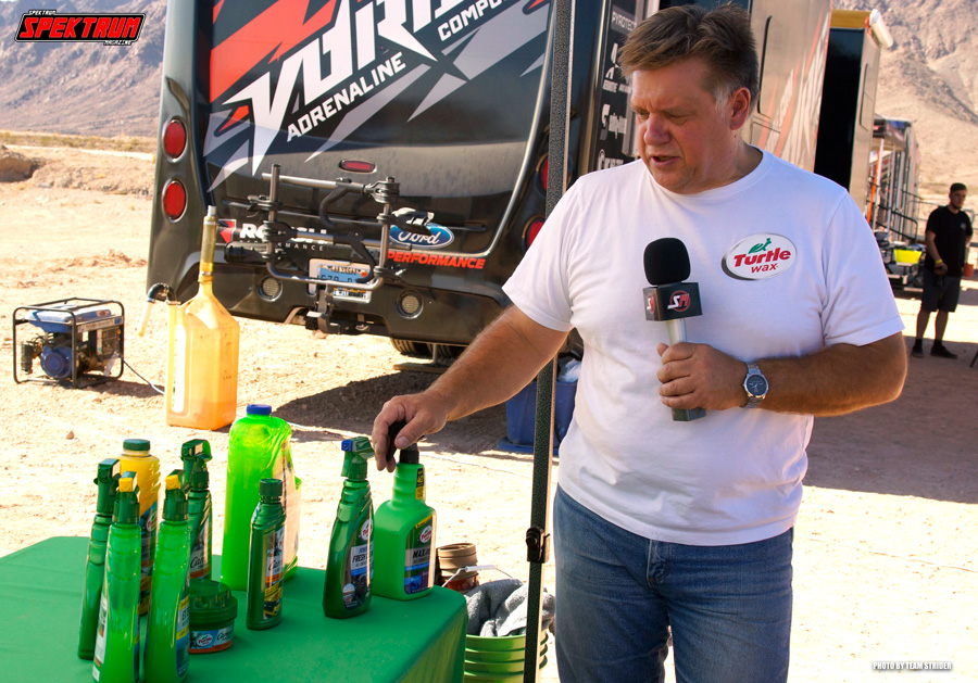 Learning about some of the new Turtle Wax products for 2018