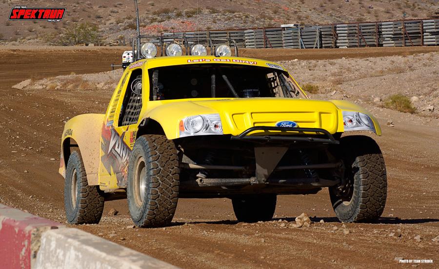 Churning up the Vegas soil in search of fun
