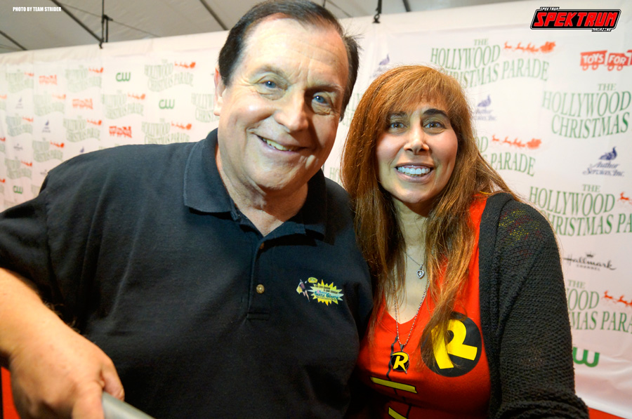 A living legend. Burt Ward from the original Batman 66 TV Show