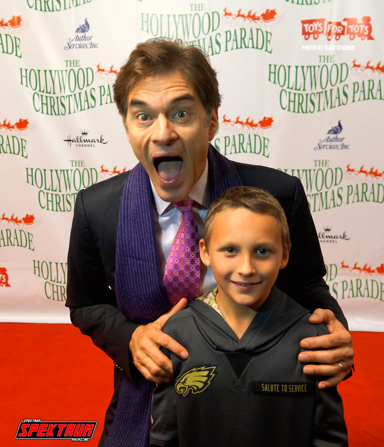 Dr. Oz was definitely happy to see us
