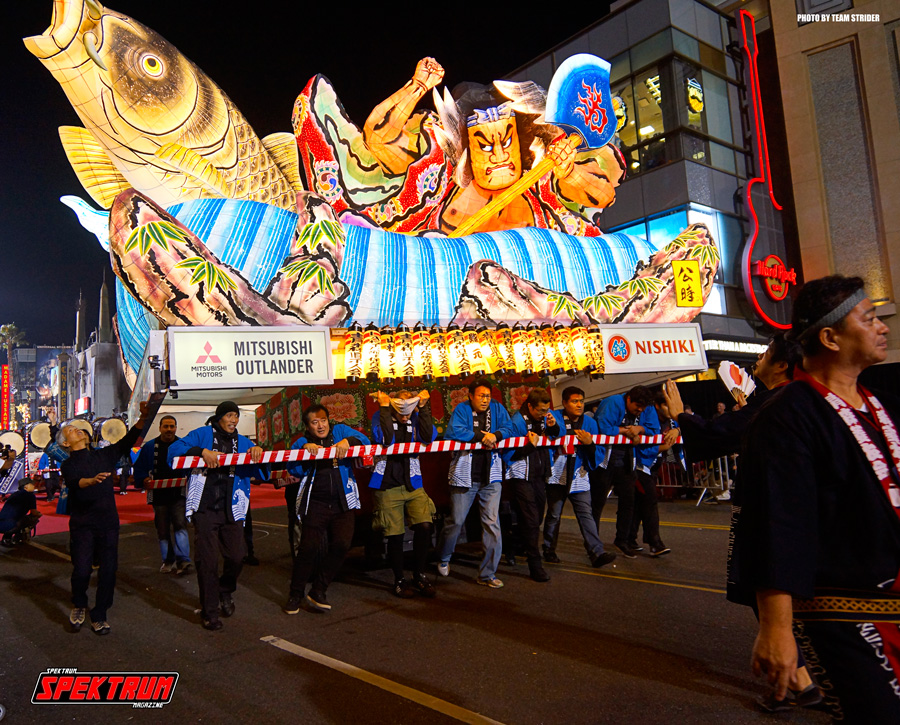 Awesome float from the Nebuta Festival