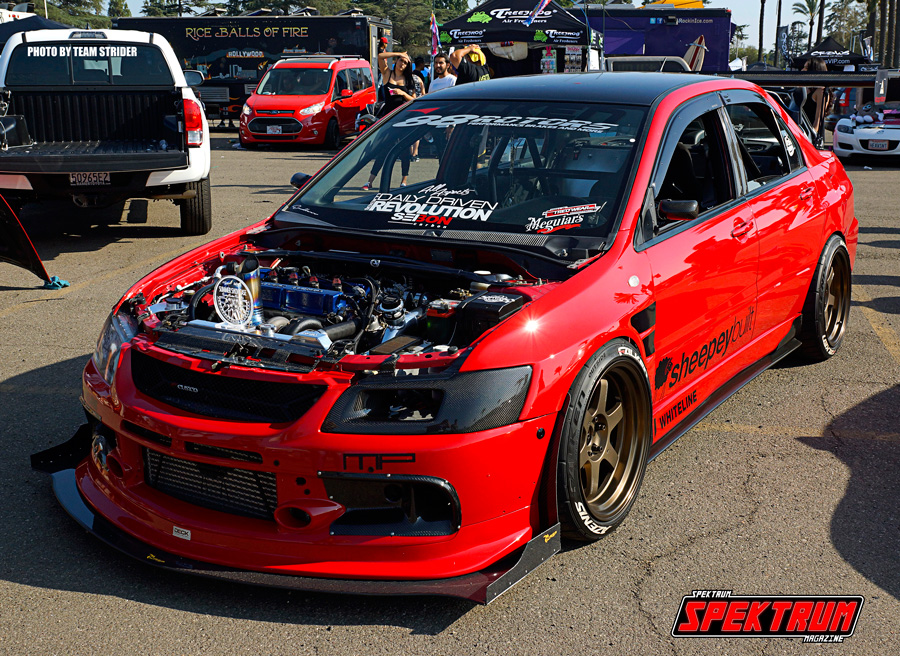 Check out this crazy Evo from Daily Driven Revolution
