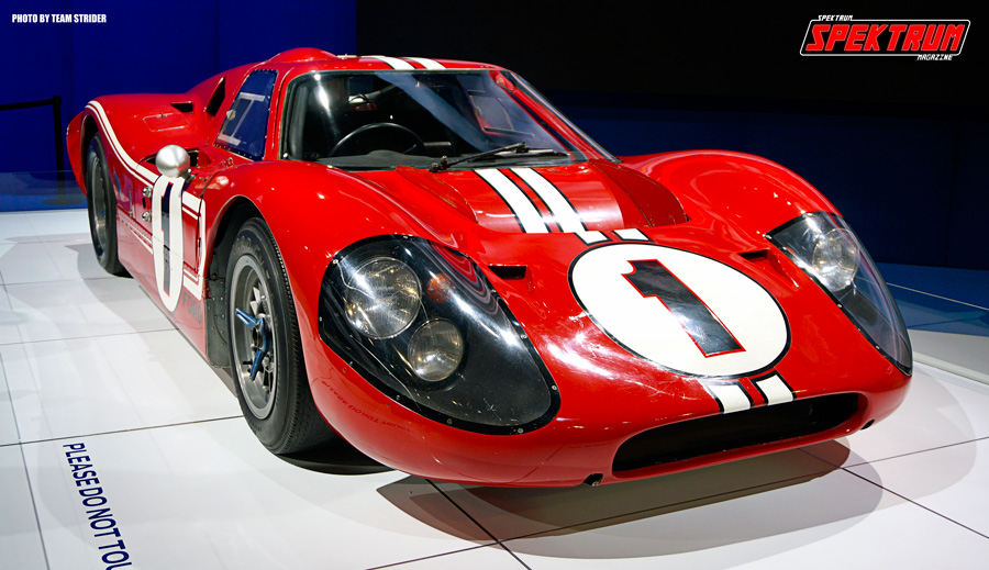 The Ford GT40. A legend in car design and pedigree