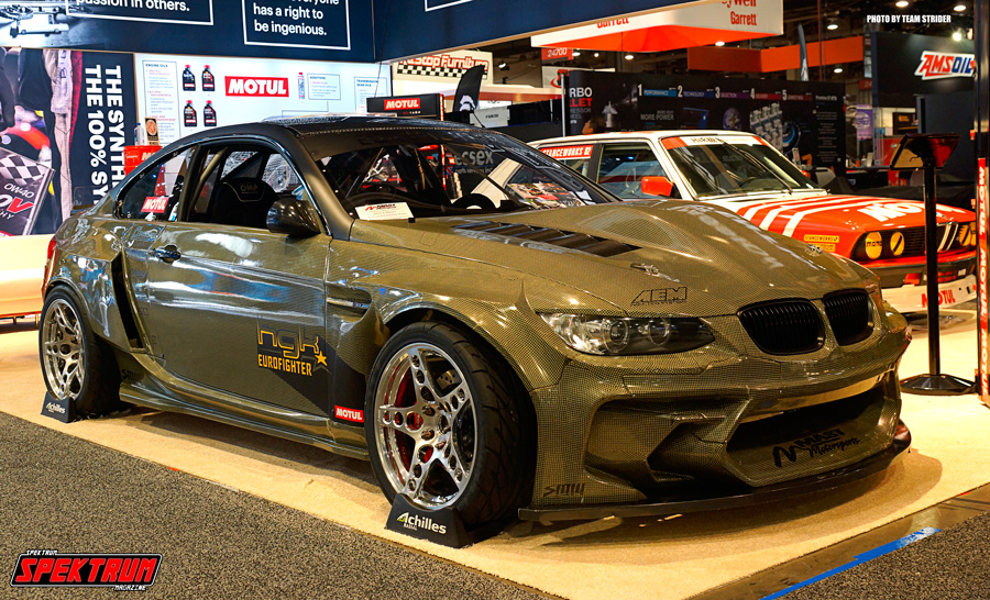 Check out this all carbon-kevlar BMW