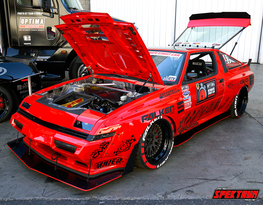 Wicked Mustang with a Corvette engine swap