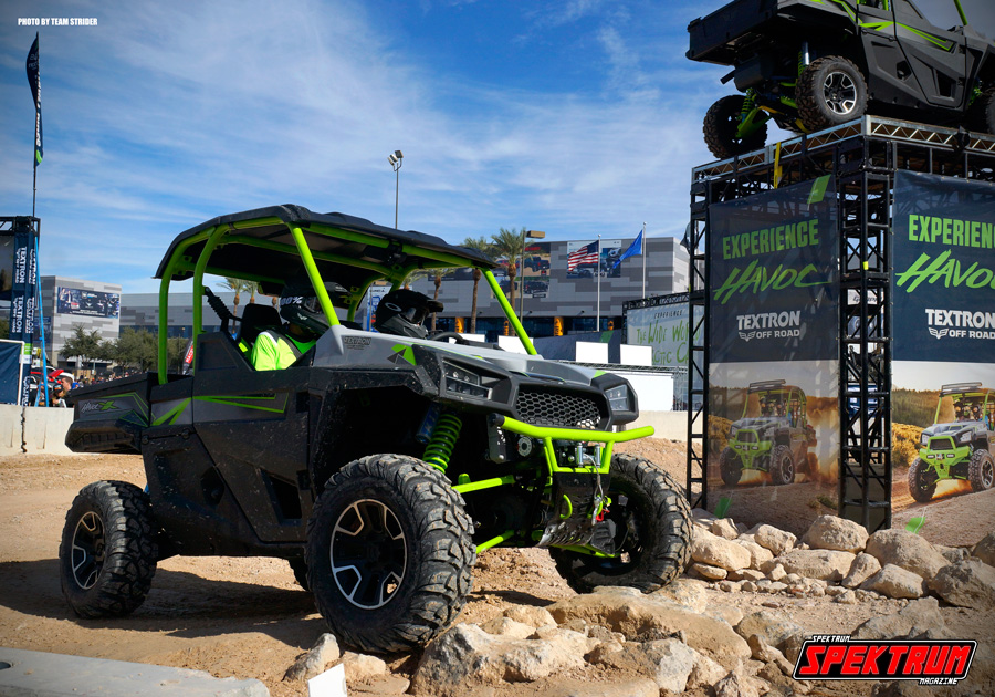 There was even some offroad vehicles doing their thing outside of SEMA