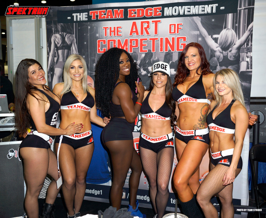 Team Edge at the Fit Expo