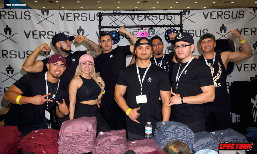 Versus Clothing team at The Fit Expo LA 2018