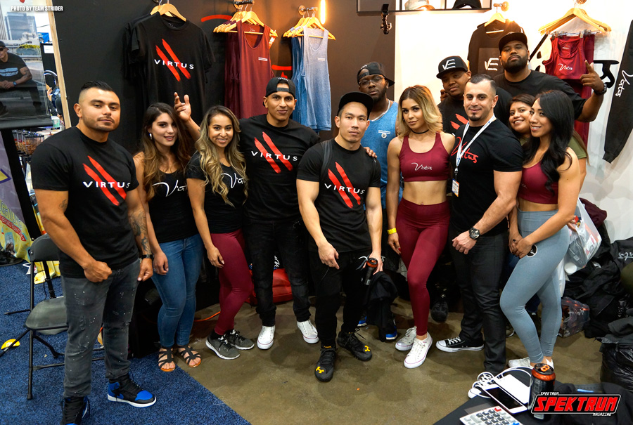 Virtrus Clothing and the team going strong