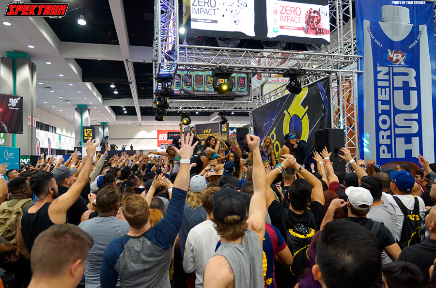 The LA Fit Expo was poppin' and one booth that did it big was Bang Energy