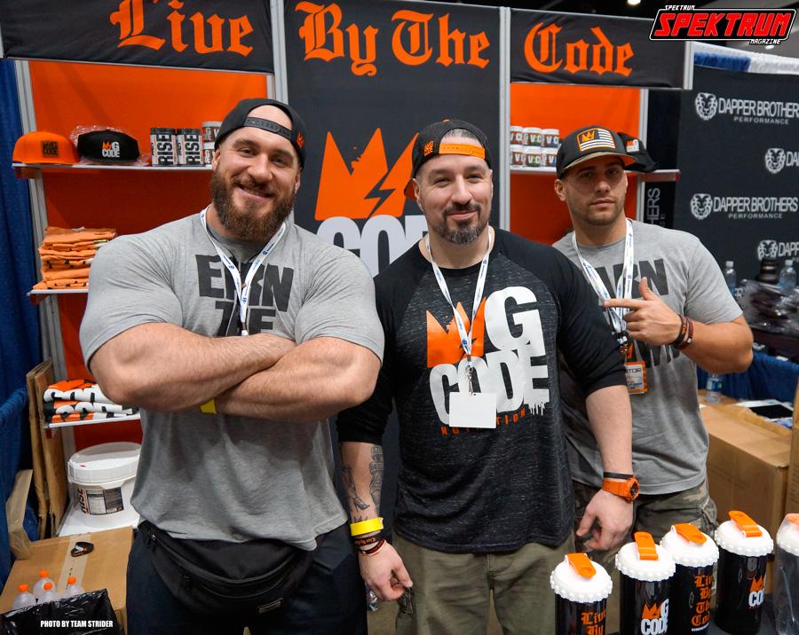 Three bad dudes at